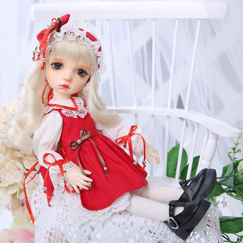 OUENEIFS BJD Doll Colette Aimd 3.0 Open Head YOSD Doll 1/6 Body Model  Girls Boys Doll Shop