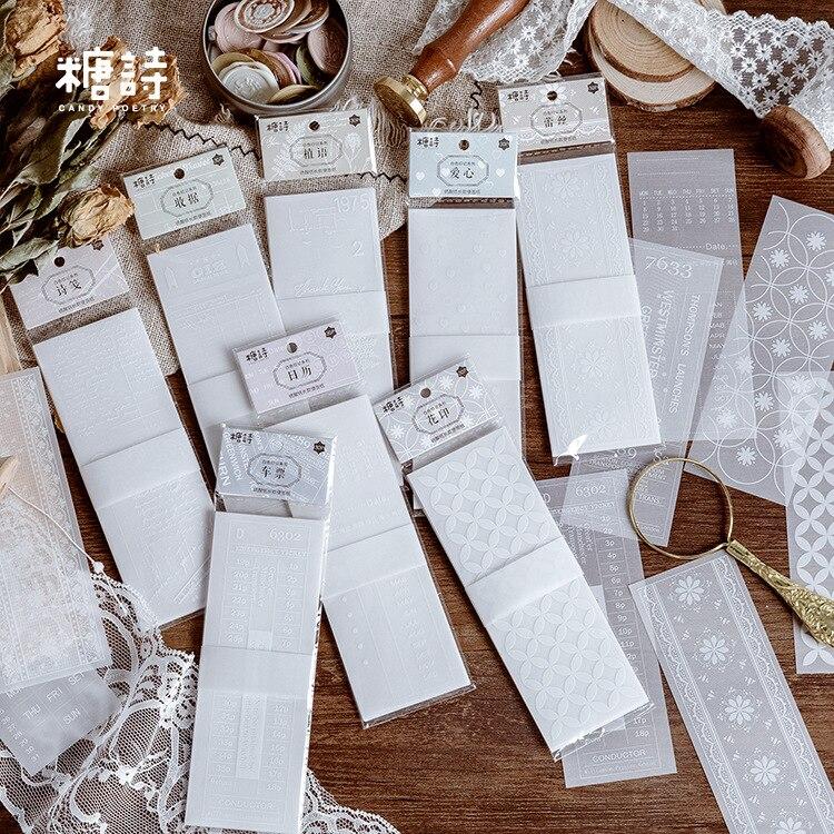 1 set/lote almohadillas de notas adhesivas blanco creativo impresión Scrapbooking pegatinas Oficina papelería escolar ¡En Stock! Versión Global Xiaomi Redmi Note 8 Pro 6GB 64GB Smartphone 64MP Quad Cámara Helio G90T Octa Core 4500mAh NFC
