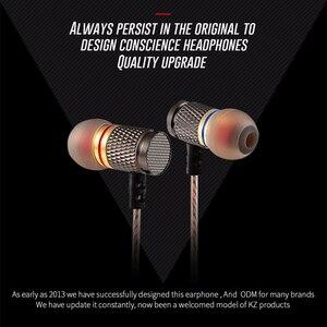 Image 5 - Marka yeni KZ EDR1 özel Edition altın kaplama konut mikrofonlu kulaklık HD HiFi kulak Stereo bas kulakiçi telefon