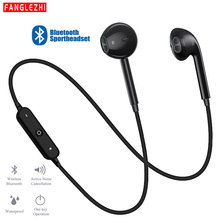 S6 Sport Bluetooth Earphones Wireless Headset Handsfree Bluetooth Earphone Music Earbuds with Mic For All Phone android iphone
