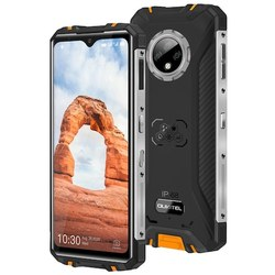 OUKITEL WP8 Pro NFC IP68 прочный смартфон, 4 Гб ОЗУ 64 Гб ПЗУ, спортивный, 6,49 дюймов, отпечаток пальца, Android 10, 5000 мАч, 16 МП, тройная камера