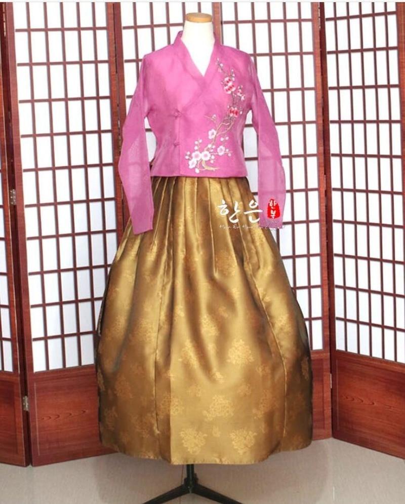Newly Top Sale Fahion Modern Hanbok Fushion Hanbok Korean Traditional Hanbok Dress Modernized Hanbok Hallowen Cosplay Gifts