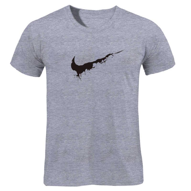 Katoen Casual LOGO Afdrukken mannen T-shirt Top Fashion Korte mouwen GEWOON BREKEN mannen Tshirt Shirt 2019 chanoeka Off White