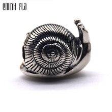 Mode Burg Schnecke Charms Silber 925 Original Perlen Fit Original Marke Armband Schmuck Vintage Perle für Schmuck Machen Perlen