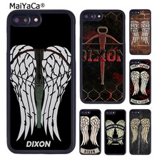 Maiyaca The Walking Dead Daryl Dixon Wings Dicetak Phone Case untuk iPhone 11 Pro Max X XR X Max 6 6S 7 8 PLUS 5 5S TPU Cover(China)