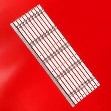 10 шт./компл. светодиодный Подсветка бар для Insignia NS-55D420NA18 светодиодный 55M5500DU SVH550AL28SVH550AL3