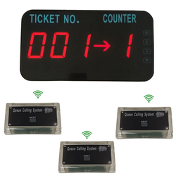 Queue Manage System Take A number Tickets Number Waitting System Come With English Voice Announce ( 3 button +1 display )