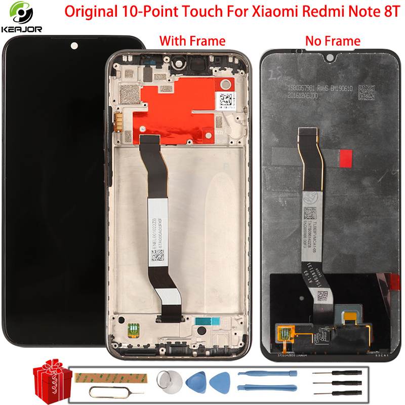 Keajor <font><b>Display</b></font> For <font><b>Xiaomi</b></font> <font><b>Redmi</b></font> Note 8T <font><b>8</b></font> T LCD <font><b>Display</b></font> Digitizer Accessory Touch Screen Replacement With Oleophobic Coating image