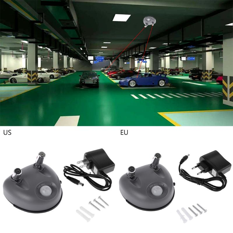 Park Rechts Dual Laser Einparkhilfe Auto Garage Decke Lage Positionierung Hilfe