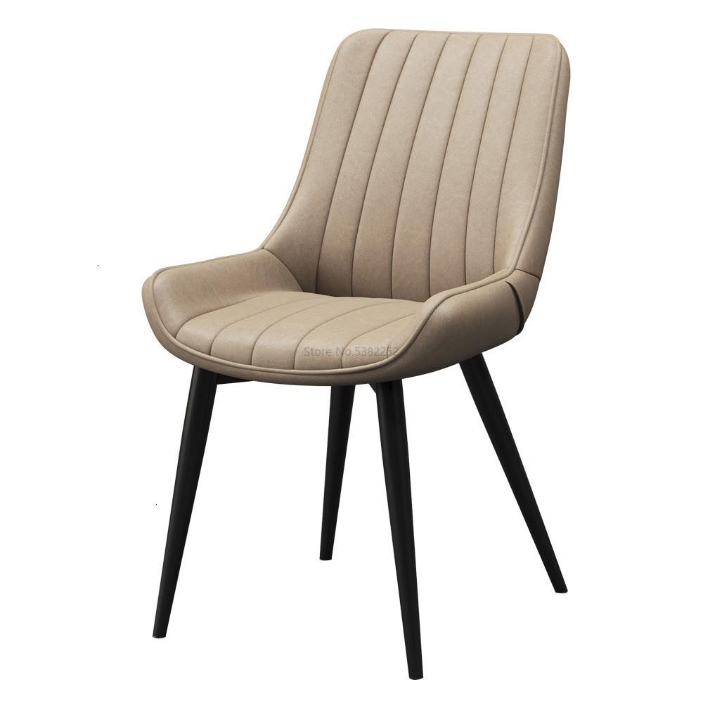 Nordic Modern Simple Chair, Iron Art Dining Chair, Home Chair, Back Chair, Leisure Chair, INS Negotiation Chair