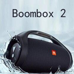 Bluetooth-Колонка Boombox 2 портативная с сабвуфером, беспроводная водонепроницаемая Колонка для компьютера, Chagre 3 4 Flip 5 4 Xtreme 2 3 PULSE 4 3
