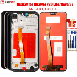 Image 1 - Màn hình Cho Huawei P20 Lite Màn Hình LCD Với Khung Trước MÀN HÌNH Hiển Thị LCD Bộ Số Hóa Cảm Ứng Thay Thế Cho Huawei P20 Lite màn hình LCD