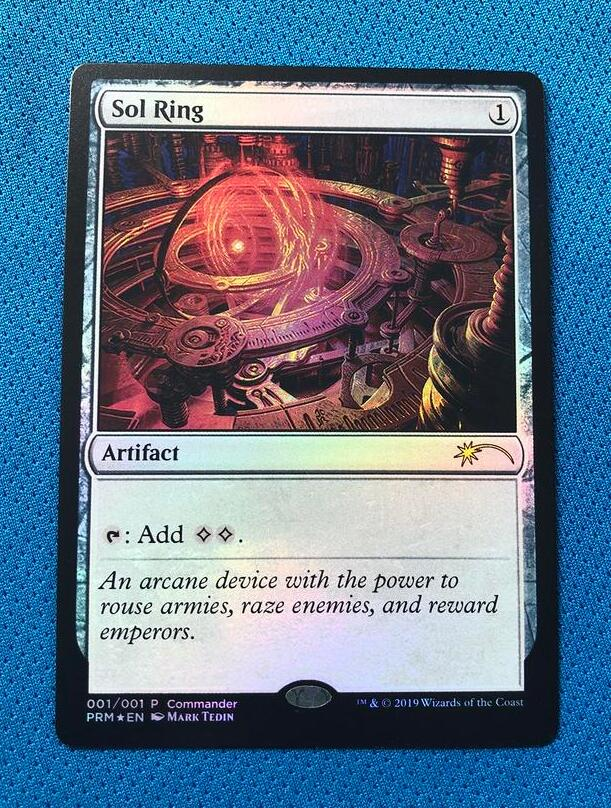 Sol RingMagicfest 2019 Foil Magician ProxyKing 8.0 VIP The Proxy Cards To Gathering Every Single Mg Card.