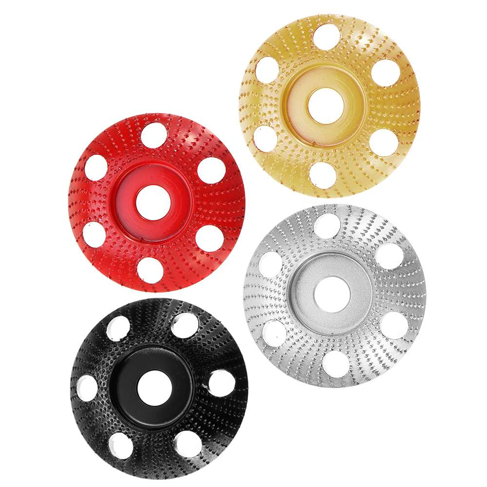 85mm Tungsten Carbide Wood Shaping Disc Carving Disc With Hole 16mm Bore Sanding Grinder Wheel For 100 115 Angle Grinder