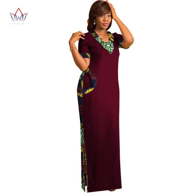 Фото brw африканская одежда для женщин с коротким рукавом макси платья цена