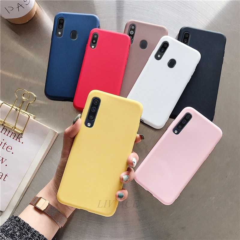 Candy Leuke Case Voor Samsung Galaxy A50 A70 M20 S8 S9 S10 Plus A30 A20 Note 9 8 Case Moble telefoon Tassen Tpu Silicone Soft Op A50 70