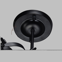 American Black Wall Lamp For Home Decorative Bedroom Light Wall Lights For Home Industrial Decor applique murale led|LED Indoor Wall Lamps|   -
