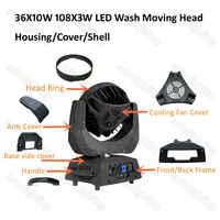 Zoom Wash a Testa mobile A LED 36*10W LED della Lavata di Teste mobili Custodia 108x3W luce Della Fase parti di luces para dj