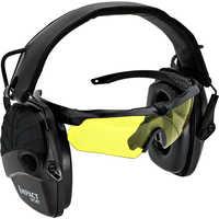 Orejeras de tiro electrónico Anti-ruido amplificación impacto deporte táctico protección auditiva auriculares Sightline almohadillas
