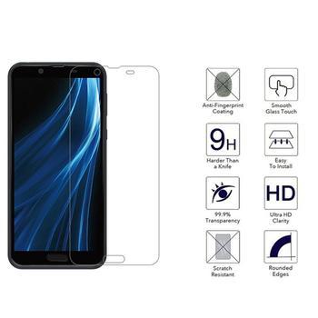 Перейти на Алиэкспресс и купить Закаленное стекло для Sharp Aquos Sense 3 Lite 2 1 Plus Basic SenseBasic Защитная пленка для экрана