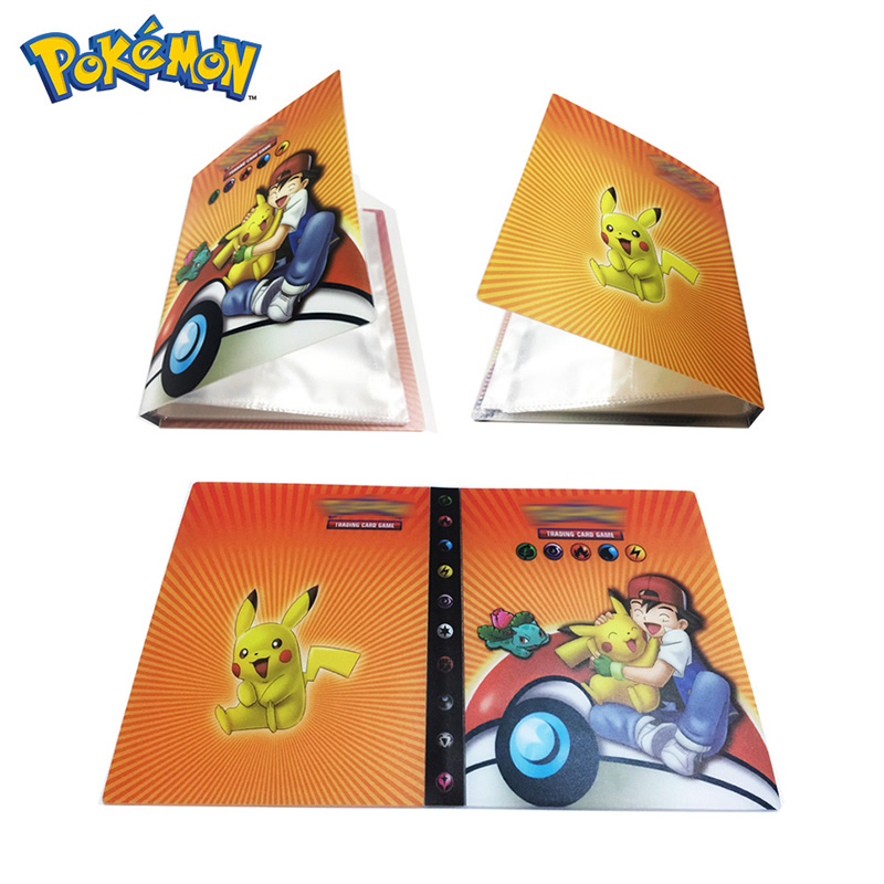 original-takara-tomy-font-b-pokemon-b-font-cards-holder-pokecard-album-shining-cards-book-200pcs-gx-no-repeat-game-collection-cards-box