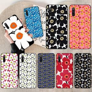 Чехол для телефона Marimekko Blue Flower для Xiaomi Mi10 10Pro 10 lite Mi9 9SE 8SE Pocophone F1 Mi8 Lite