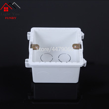 Switch Socket  junction installation box universal multi-splicing flame retardant bottom 86mm*86mm*50mm
