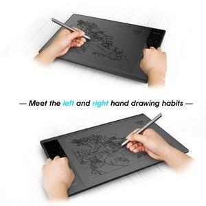 Image 5 - Tablet de desenho veikk a30, tablet gráfico de desenho com 10x6 polegadas, grande área ativa, tablet gráfico para ensino e aprendizagem on line com 8192