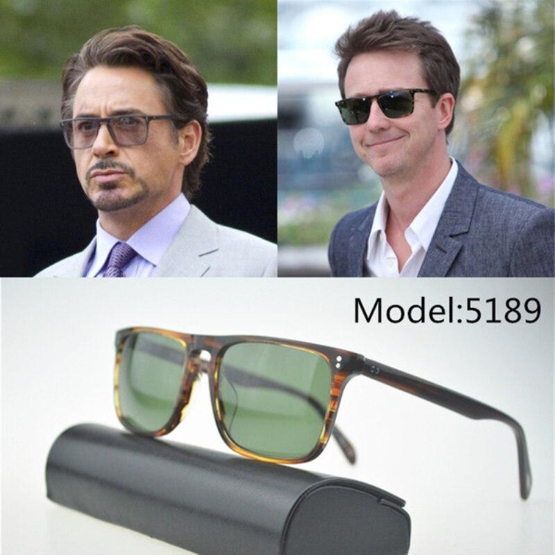 Vintage Men Sunglasses 2019 Bernardo Polarized Sunglasses Men Brand Designer Rectangle Sun Glasses Gafas De Sol Mujer OV5189S