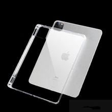 Case for iPad Pro 11 inch 2020 Cover Transparent Clear TPU Silicon Tablet Case for iPad Air 2/1 9.7 2018 Pro 10.5 Mini Funda tablet case for apple ipad pro 2 case 9 7 inch crystal clear transparent silicon ultra thin slim tpu soft cover