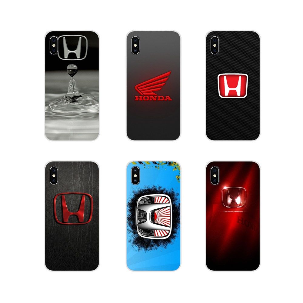 For Huawei Mate Honor 5X 6X 7 7A 7C 8 9 10 8C 8X 20 30 Lite Pro Honda H Wing Logo Accessories Phone Cases Covers