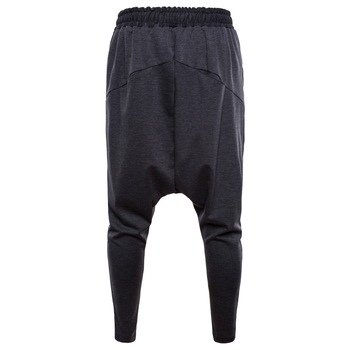 Pantalones Harem para hombre Hip Hop Casual Joggers cintura elástica algodón pantalones de chándal para hombre ropa de calle medianos pantalones de hombre 2019