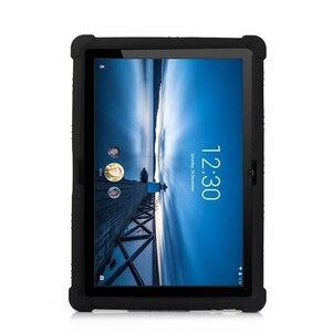 Image 5 - Funda de silicona para tableta Lenovo Smart Tab P10 TB X705F, antigolpes, con soporte, M10, TB X605F, 10,1