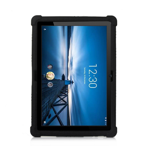 Image 5 - סיליקון מקרה עבור Lenovo חכם Tab P10 TB X705F ילדים עמיד הלם Tablet סטנד כיסוי עבור Lenovo Tab M10 TB X605F 10.1 פגוש מקרה