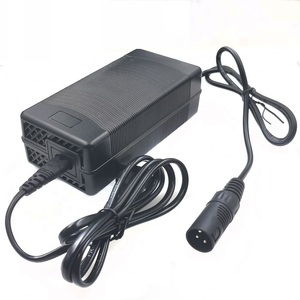 Image 3 - 1PCS lowest price 54.6V 3A Charger 54.6v 3A electric bike lithium battery charger for 48V lithium battery pack XLR Plug