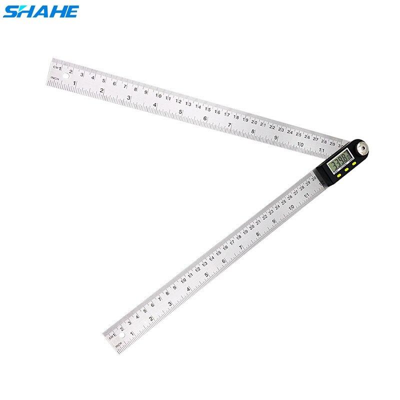 300mm 12'' Digital Protractor Inclinometer Angle Finder Level Measuring Instrument Digital Goniometer Angle Ruler