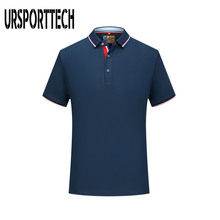 URSPORTTECH Mens Polo Shirt 2020 Summer Fashion Casual Solid