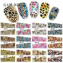 12 шт очаровательные леопардовые слайдеры дизайн ногтей Искусство