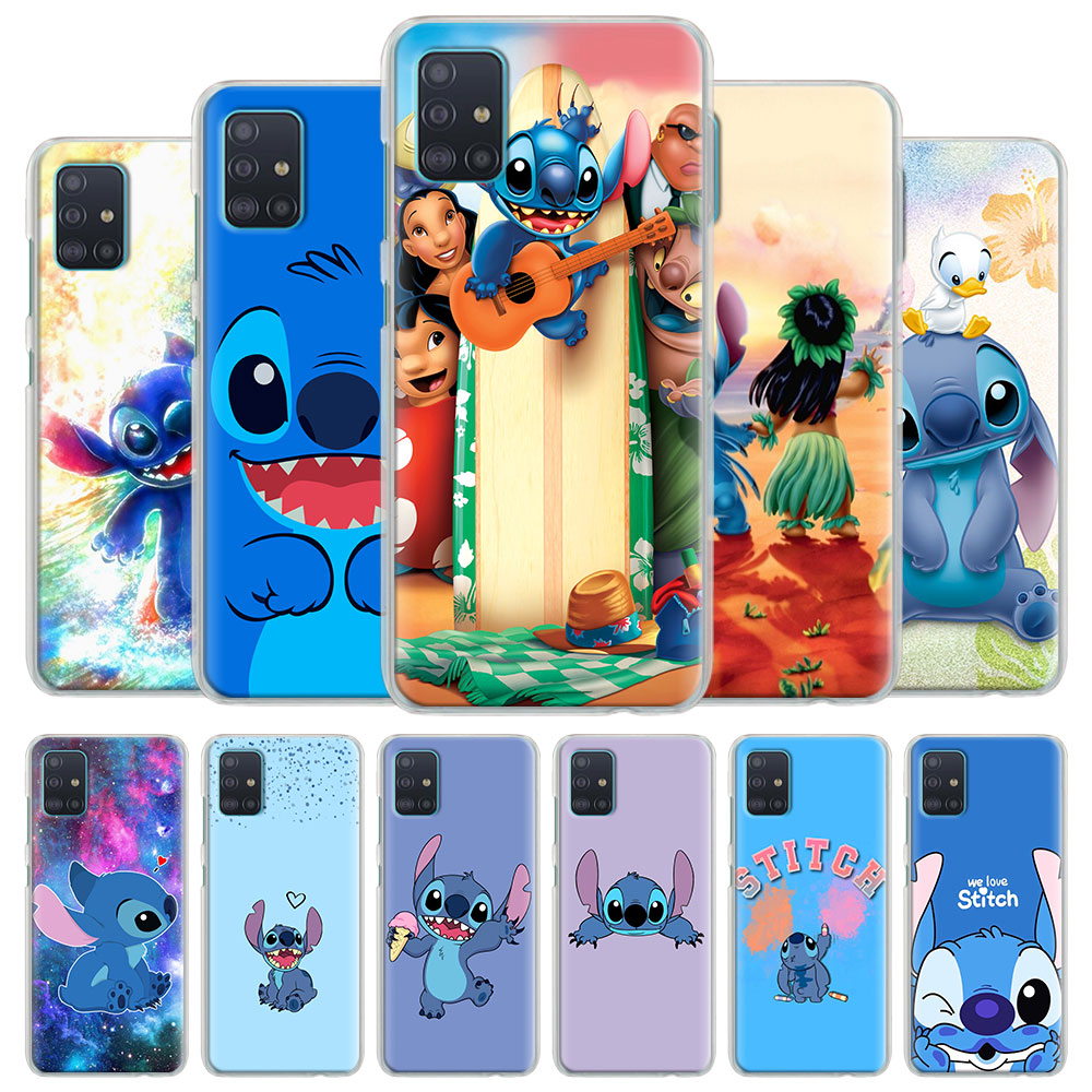 Phone Case Coque For Samsung Galaxy A51 A71 A10 A10e A10s A20 A30 A40 A50 A70 S A91 Hard Cover Lilo Stitch