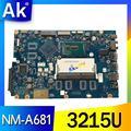 Бесплатная доставка Для Lenovo Ideapad 100-15IBD 100 15IBD CG410/CG510 NM-A681 Материнская плата ноутбука 3215U CPU