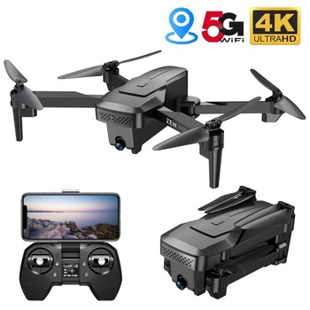 VISUO XS818 GPS Drone 4K Camera HD FPV Drones with Follow Me 5G WiFi Optical Flow Foldable RC Quadcopter Professional Dron
