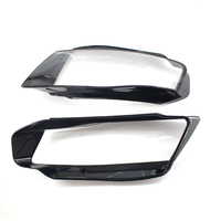 Left/Right Front Headlights Shell Lamp Shade Clear Lens Cover Headlamp Lenses Case Lampshade For Audi A4 B8 2009 2012