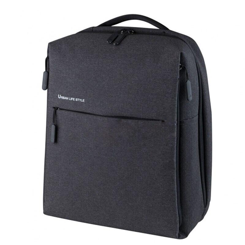Mi Backpack Urban Life Style Shoulders OL Bag Leather Waterproof Daypack School Student Bag Duffel Bag 14 Inch Laptop Bags