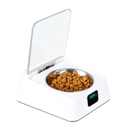 Automatic Pet Feeder Intelligent Feeder Infrared Sensor Auto Open Cover Bowl Anti-mouse Moisture-proof Dog Cat Food Dispenser