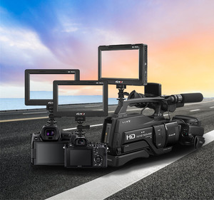 Image 5 - Viltrox 7 ii ii DC 70 ii 1024*600 hd lcd hdmi av entrada câmera monitor de vídeo exibição campo monitor para canon nikon dslr bmpcc