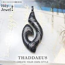 Gancho colgante étnico maorí, 2019 joyería étnica de moda Europa sólida plata 925 Bijoux regalo para mujer y hombre rebelde