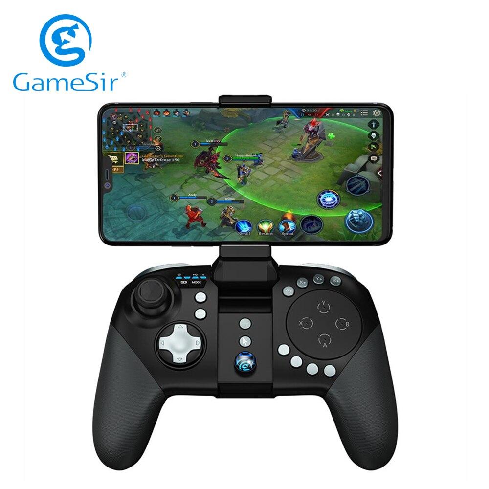 [Offre spéciale] manette de jeu sans fil Bluetooth GameSir G5 avec Trackpad pour jeux de téléphones mobiles Android FPS MOBA