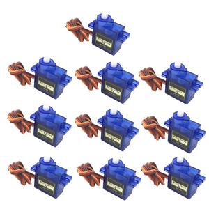 5/10pcs 9G Micro Mini Servos Horns better than Servo SG90 for RC 250 450 Helicoper Airplane Car ship Boat Robot All Categories(China)