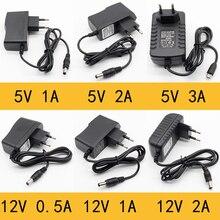 Charger Power-Adapter-Supply Eu-Plug Micro-Usb 12v 1a 100-240V 1pcs AC To 2A DC 5V