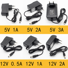 1pcs 100-240V AC to DC Power Adapter Supply Charger adapter 5V 12V 1A 2A 0 5A EU Plug 5 5mm x 2 5mm 5v3aDC Plug Micro USB cheap ELECAPITAL CN(Origin) 5V 12V 1A 2A 3A 0 5A 5 5mm*2 1mm Switching Plug In